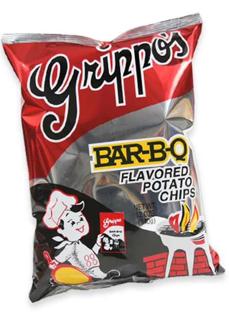 Bag of Grippo's Potato chips